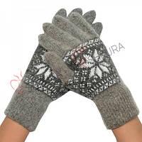 Женские зимние перчатки 06
