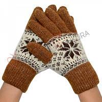 Женские зимние перчатки 02