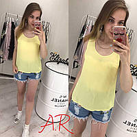 Легкая шифоновая блуза (2 цвета)