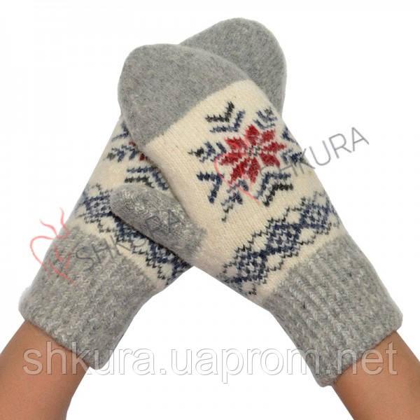 Жіночі рукавиці, утеплені 02