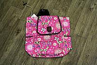 Рюкзак розовый с оленем