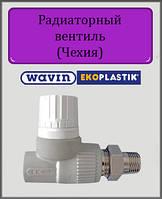 Радиаторный вентиль Wavin Ekoplastik 20 прямой