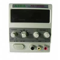 Блок питания лабораторный Aida  AD-1502DD (15V 2A цифр. индикация)