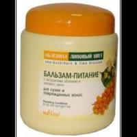 Бальзам-питание для сухих и поврежденных волос Облепиха Bielita