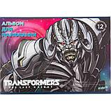 """Альбом для рисования Kite """"Transformers"""" 12 листов (TF17-241), фото 2"""