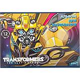 """Альбом для рисования Kite """"Transformers"""" 12 листов (TF17-241), фото 3"""