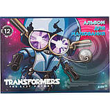 """Альбом для рисования Kite """"Transformers"""" 12 листов (TF17-241), фото 4"""