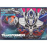 """Альбом для рисования Kite """"Transformers"""" 12 листов (TF17-241), фото 5"""