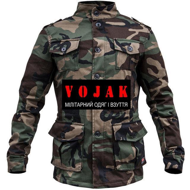 10c2f9cd3ee Куртка милитари WOODLAND р