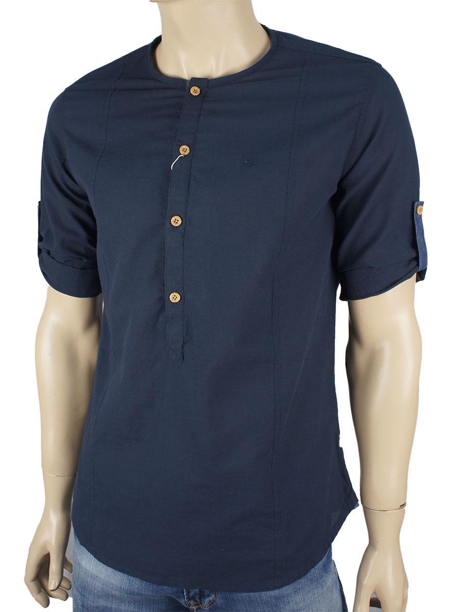 Чоловіча сорочка  NCS 7965 т.син.