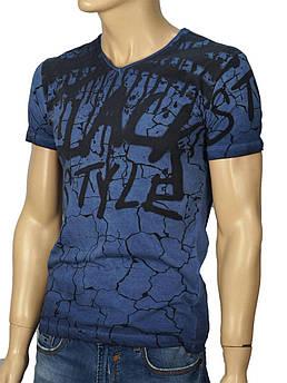 Чоловіча футболка Lagos 0340 комбінована