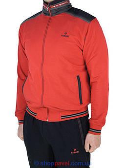 Чоловічий спортивний костюм Fabiani 15ВЕ3Е3757 red червоного кольору