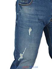 Стильні чоловічі джинси X-Foot 261-2220 , фото 2
