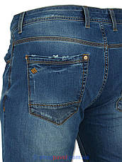Стильні чоловічі джинси X-Foot 261-2220 , фото 3