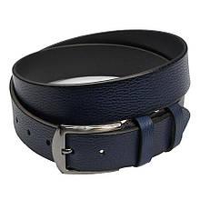 Чоловічий джинсовий ремінь Bond 49800 в синьому кольорі