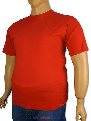 Чоловіча футболка Imako M:ALEKSANDER В червоного кольору великих розмірів, фото 2