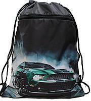 Сумка для сменки Зеленая Машина  для мальчика 1205-7