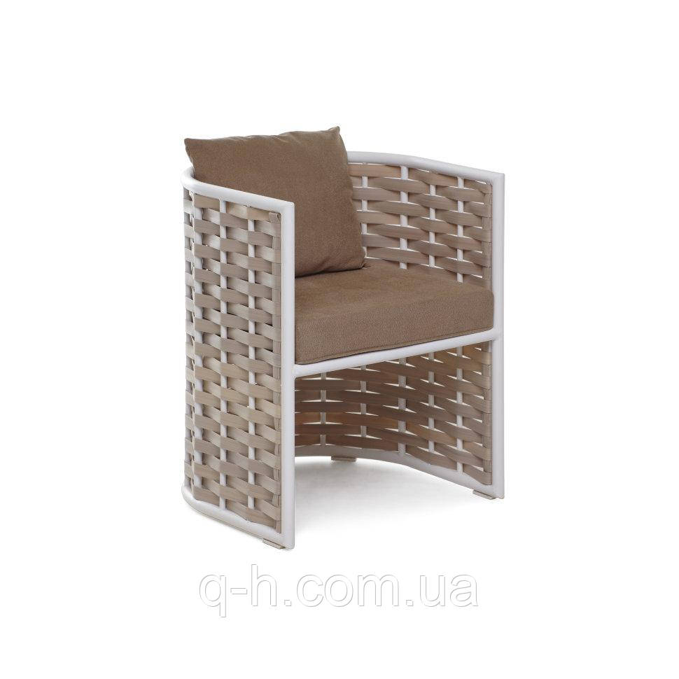 Кресло плетеное из искусственного ротанго Тин 55x55x69 см
