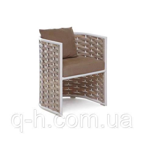 Кресло плетеное из искусственного ротанго Тин 55x55x69 см, фото 2
