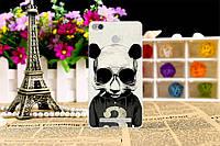 Чехол с рисунком для Xiaomi Redmi 3S панда