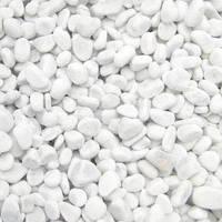 Галька белая мраморная Каррара 15-25 мм