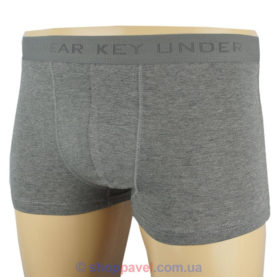 Чоловічі боксери Key MXH 017 SZ сірого кольору