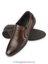 Туфлі чоловічі класичні Tapi A-5371 коричневого кольору