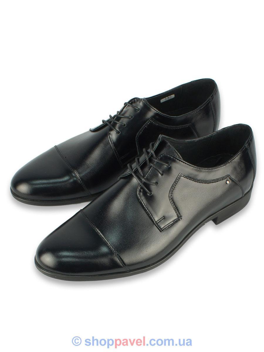 Туфлі чоловічі класичні Tapi С-5294 чорного кольору