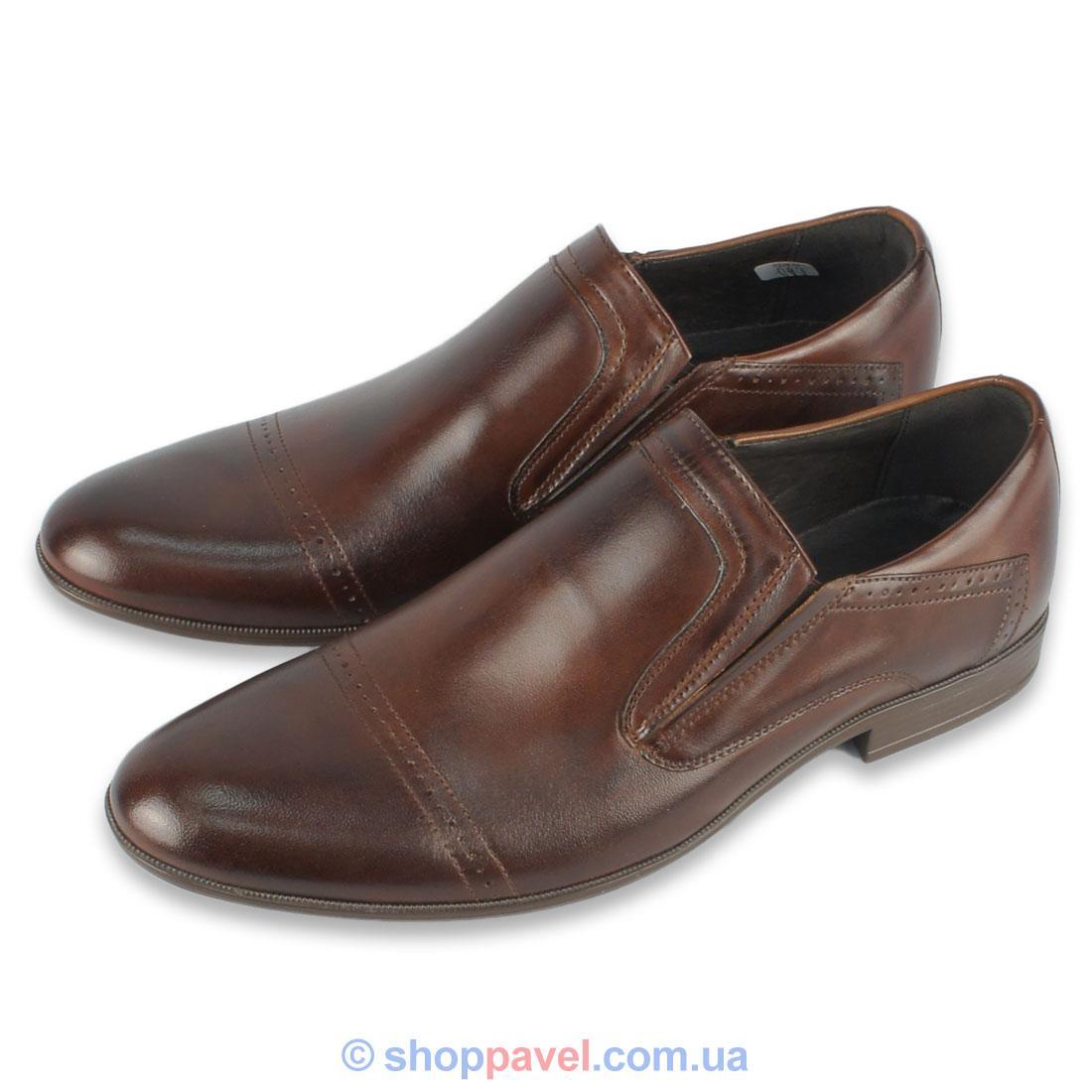 Туфлі Tapi B-5704 коричневого кольору