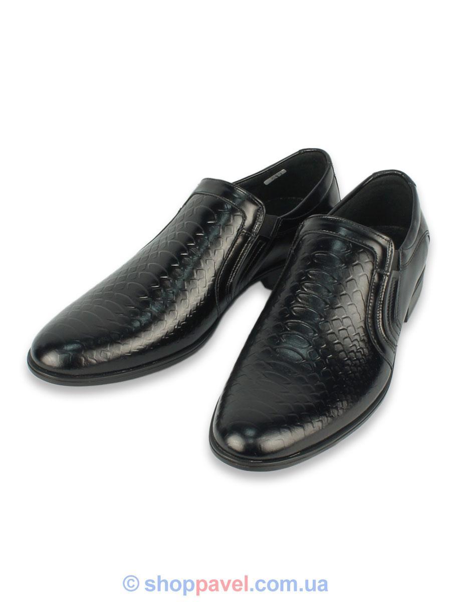 Туфлі чоловічі Tapi B-5371 чорного кольору