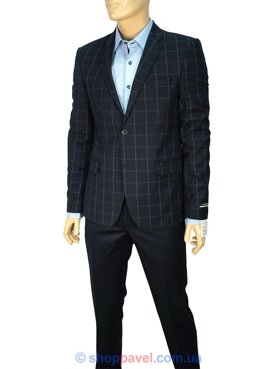 Класичний чоловічий костюм Daniel Perry Asn.06 C.058 темно-синього кольору