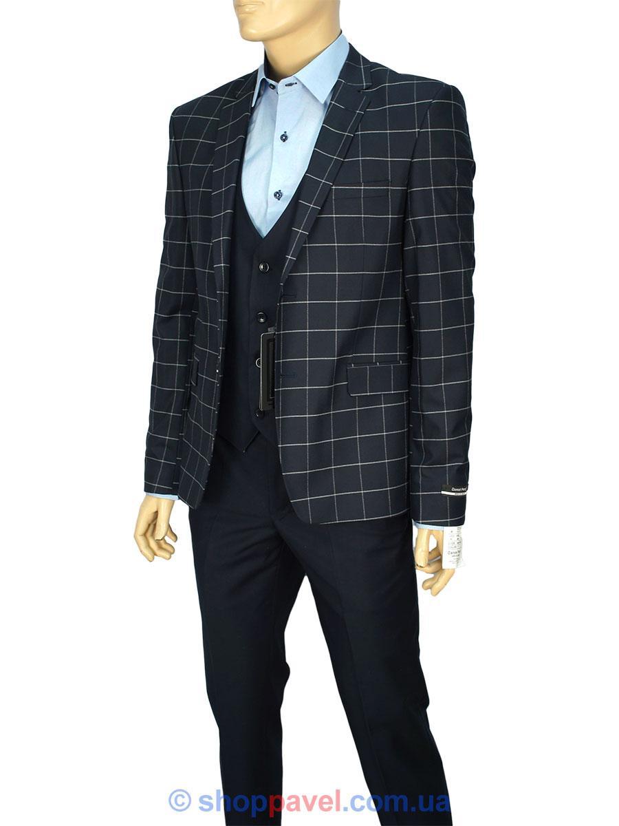 Чоловічий класичний костюм Daniel Perry New Eko C.7 TR темно-синього кольору