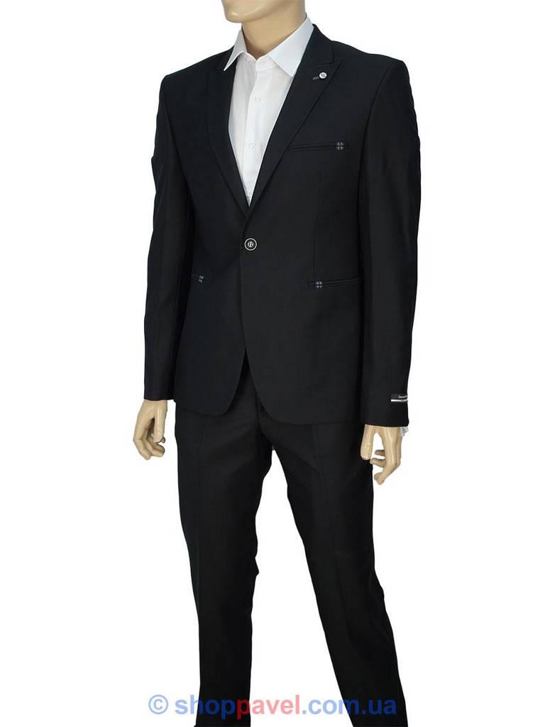Чорний чоловічий класичний костюм Daniel Perry YT.300 в інтернет ... 22a8663747da0