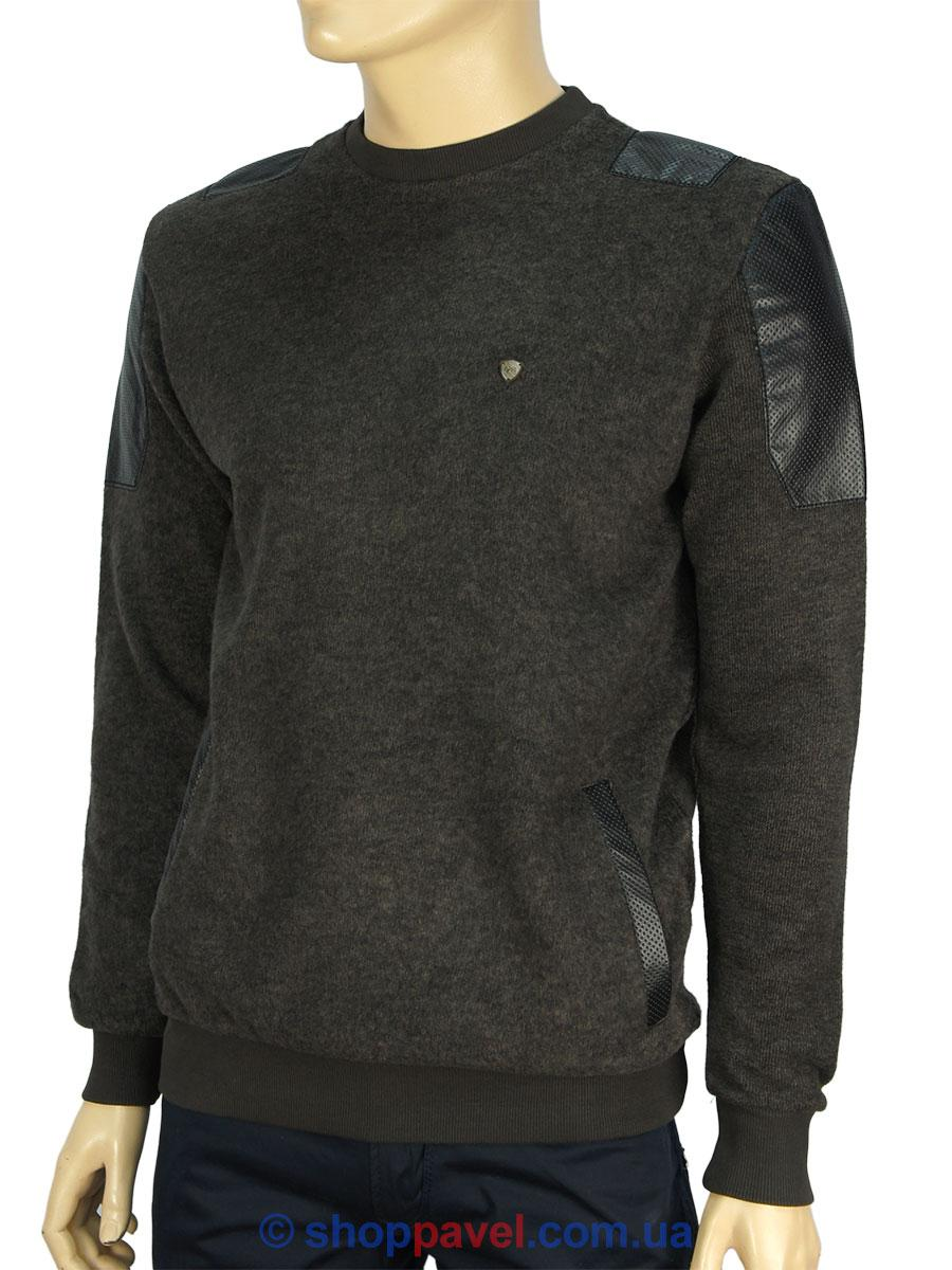 Чоловічий светр NCS M: +1984 коричневого кольору