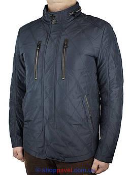 Стьогана чоловіча демісезонна куртка Malidinu MC-16160-1 # 2 в синьому кольорі