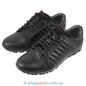 Чоловічі кросівки Lemar (Minardi) 1371/3 чорного кольору