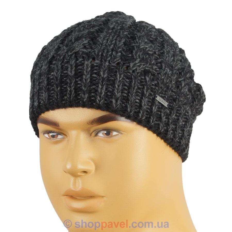 Стильна чоловіча шапка Loman в різних кольорах