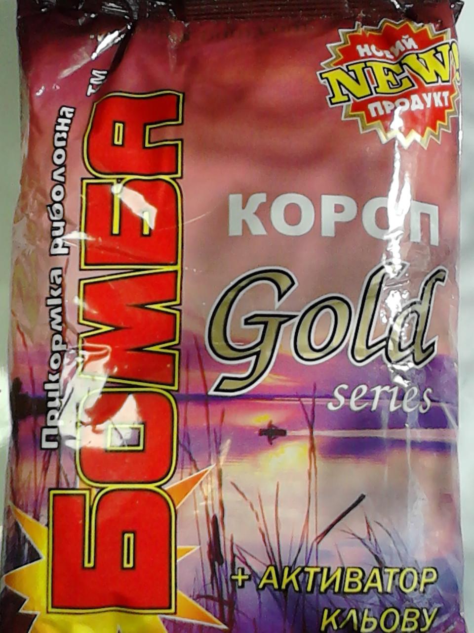 Прикормка Бомба Короп Gold series