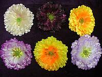 Головка мак атлас- искусственных цветов, фото 1