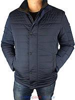 Зимова чоловіча куртка WK 8145 темно-синього кольору