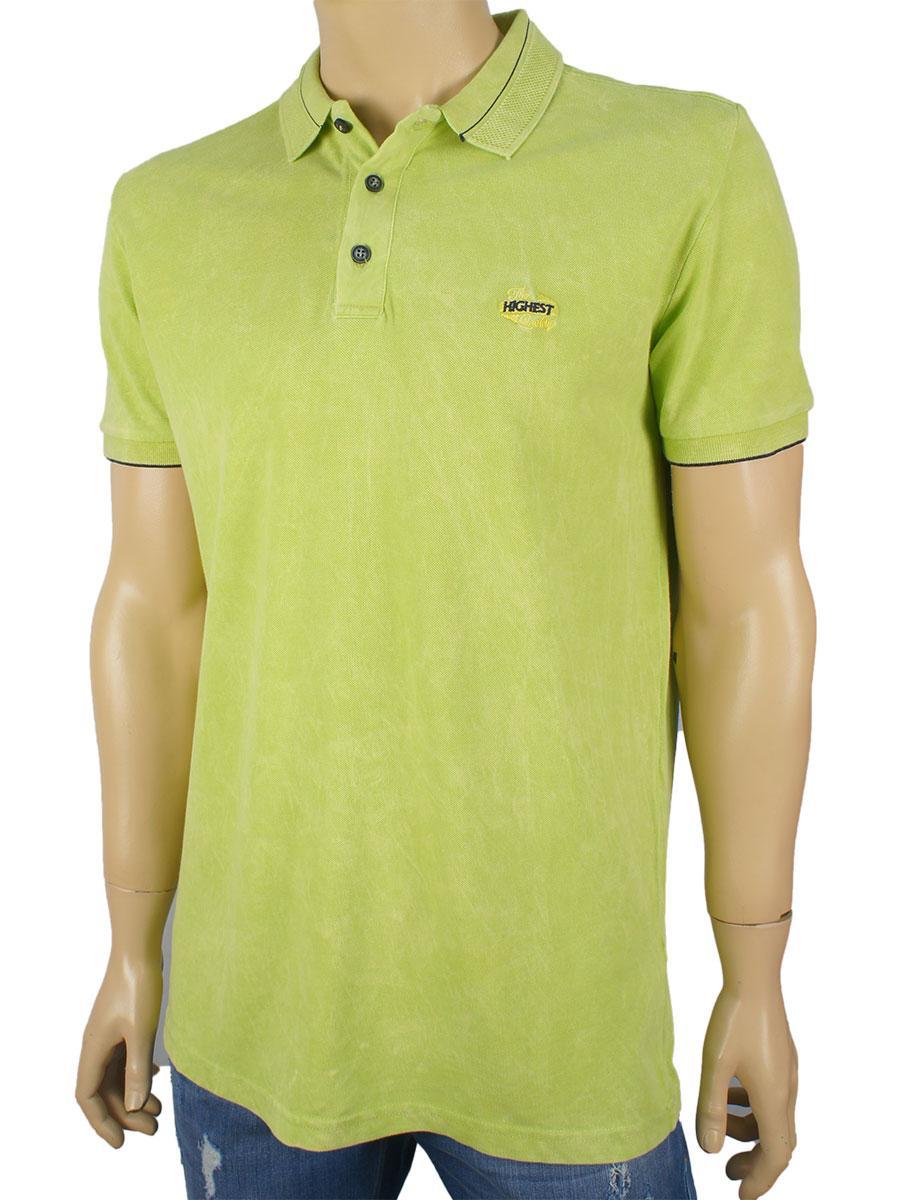 Чоловіча теніска Fabiani 4794 в салатовому кольорі