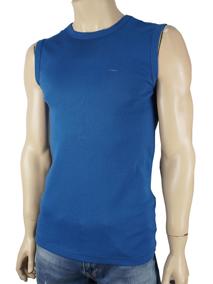 Чоловіча безрукавка Fabiani 4308 синього кольору