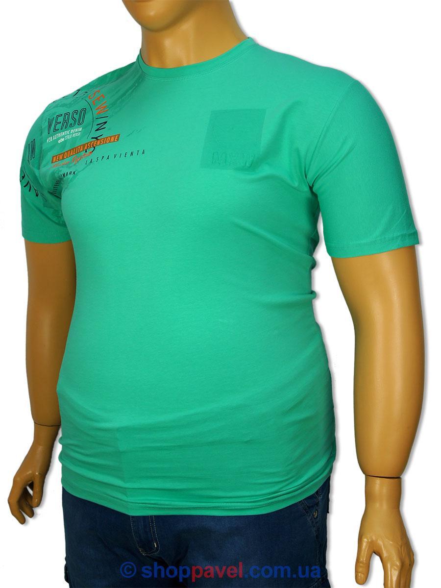 Чоловіча футболка Maxway 4327 B великих розмірів