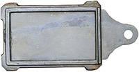 Задвижка дымохода чугунная 180*280 мм (длинная ручка)