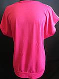 Женские летние футболки с цветами., фото 4