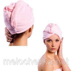 Рушник-шапочка для сушіння волосся