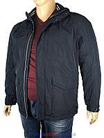 Чоловіча куртка Malidinu 15129/2H темно-синього кольору в великому розмірі
