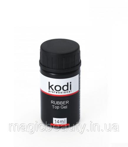 Kodi Rubber Top - Каучуковое верхнее покрытие для гель-лака 14 мл