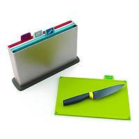 Набор разделочных досок Joseph Joseph + нож 6 предметов 98264