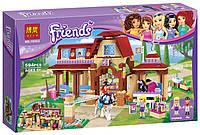 """Конструктор Bela Friends 10562 """"Клуб верховой езды в Хартлейке"""" (аналог LEGO Friends 41126), 594 дет"""